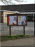 TM3864 : Kelsale Village Notice Board by Adrian Cable