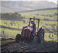 C0135 : Tractor near Dunfanaghy by Rossographer