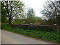 TF8516 : Bridge near Brick Kiln Farm, East Lexham, Norfolk by Richard Humphrey