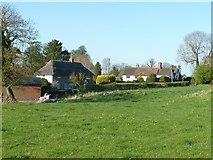 SP8307 : Ellesborough - Houses on Springs Lane by Rob Farrow