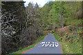 SH7611 : Road climbing through forestry, Cwm Hen-gae by Nigel Brown