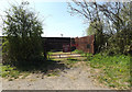 TM2971 : Entrance off the B1117 Vicarage Road by Geographer