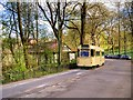 SD8303 : Blackpool Railcar Passing Heaton Park Tramway Museum by David Dixon