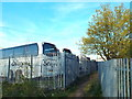 NY3956 : Footpath through Willowholme Industrial Estate, Carlisle by Malc McDonald