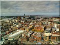 SJ3490 : Liverpool Cityscape from Radio City Viewing Tower (St John's Beacon) by David Dixon