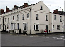 SP3265 : Corner of George Street and Russell Terrace in Royal Leamington Spa by Jaggery
