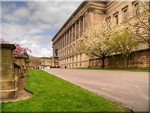 SJ3490 : Liverpool, St John's Gardens and St George's Hall by David Dixon