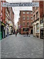SJ3490 : Mathew Street, Liverpool's Cavern Quarter by David Dixon