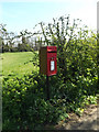 TM2784 : High Road Postbox by Adrian Cable