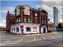 SJ3391 : Bacchus Taverna, Waterloo Road by David Dixon