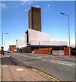 SJ3391 : Mersey Tunnel Ventilation Shaft, Waterloo Road, Liverpool by David Dixon