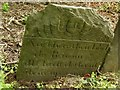 SK6821 : Belvoir Angel headstone, Grimston Churchyard by Alan Murray-Rust