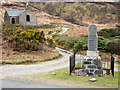 NM6525 : War memorial and converted church at Kinlochspelve by Trevor Littlewood