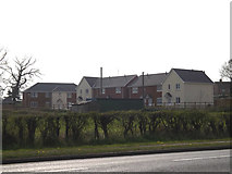 TM3876 : Houses on Cherry Close by Adrian Cable