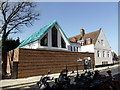 TQ2777 : The Hut, Alpha Place, Chelsea by PAUL FARMER