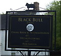 NU0139 : Sign for the Black Bull Inn, Lowick by JThomas