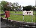 SN6212 : Queen Elizabeth II postbox, Arthur Street, Ammanford by Jaggery
