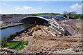 SD4764 : Milestone Bridge construction, Lancaster Canal by Ian Taylor