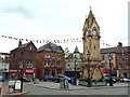 NY5130 : Penrith town clock by Malc McDonald