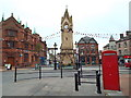 NY5130 : Market Square, Penrith by Malc McDonald