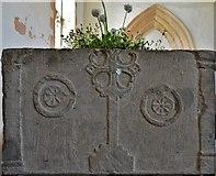 SK8707 : Egleton: St. Edmund's Church: The font by Michael Garlick