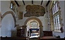 SK8707 : Egleton: St. Edmund's Church: The nave and chancel by Michael Garlick