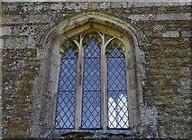 SK8707 : Egleton: St. Edmund's Church: North facing chancel window by Michael Garlick