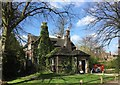 SJ8645 : Stoke (Hartshill) Cemetery: Holly Lodge by Jonathan Hutchins