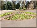 SJ8645 : Stoke (Hartshill) Cemetery: flowerbed by Jonathan Hutchins