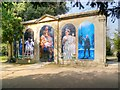 SP2054 : Shakespearean Scenes on the Summerhouse by David Dixon