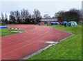 NZ3472 : Monkseaton Athletics Track by Mick Garratt
