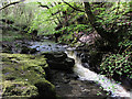 SN8312 : Waterfall on the Nant Llech by Gareth James