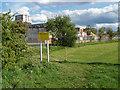 TQ0866 : Playing fields, Desborough Island by Alan Hunt