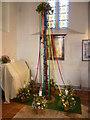 TQ6860 : Annual flower festival at All Saints Church, Birling by Marathon
