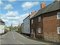SK6514 : Melton Road, Rearsby by Alan Murray-Rust