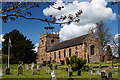 SJ7521 : All Saints Church, Forton by Mike Searle