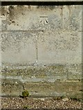 SK6514 : Bench mark, St Michael's Church, Rearsby by Alan Murray-Rust