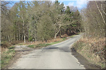 SE6090 : Minor road to Bransdale by Pauline E