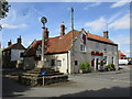 TF0854 : Cross and Red Lion Inn, Digby by Jonathan Thacker