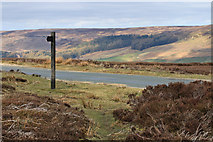 SE6096 : Footpath sign, Bransdale by Pauline E