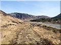 NM5730 : A849 below Cruach Choireadail by Trevor Littlewood