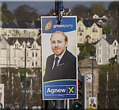 J5081 : Election Poster, Bangor by Rossographer