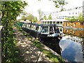 TQ2581 : Persephone - narrowboat on Paddington Arm, Grand Union Canal by David Hawgood