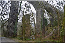 SX5160 : Riverford Viaduct old and new by N Chadwick
