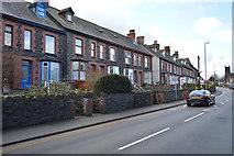 SH5771 : Terraces, Caernarfon Rd by N Chadwick