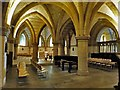 TQ1906 : Lancing College Chapel - Crypt by Rob Farrow