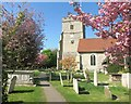 SU8985 : The Thames Path at Cookham Church by Des Blenkinsopp