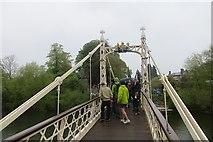 SO5139 : Vicky Bridge by Richard Webb