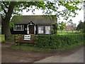 SO8742 : Earl's Croome's Polling Station by Philip Halling