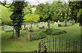 ST7859 : Kissing gate entrance to Freshford Cemetery by Jaggery